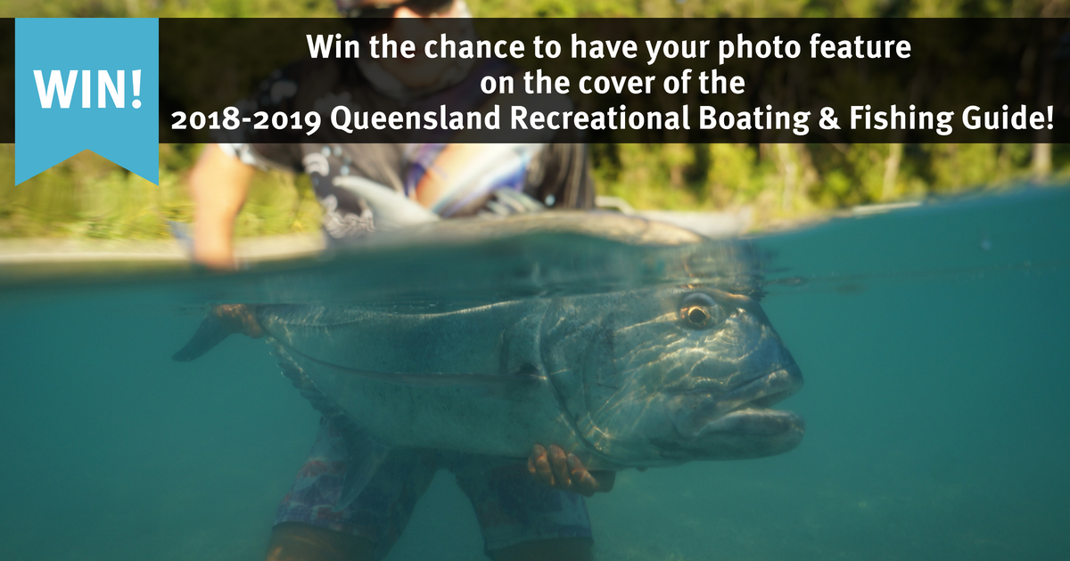 Win the chance to have your photo feature on the cover of the Boating and Fishing Guide