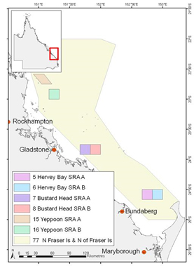 Scallop replenishment area locations