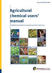 The cover of the agricultural chemical users' manual