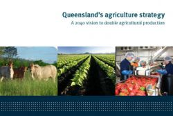 Queensland's agriculture strategy