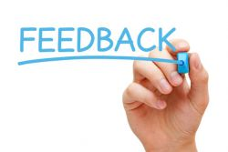 Providing feedback or making a complaint