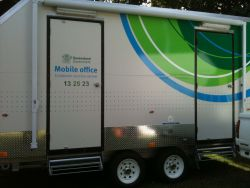 Mobile office locations
