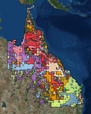 Map Queensland.Pest Distribution Maps Department Of Agriculture And Fisheries