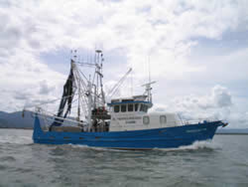 Image of the DPI&F research trawler,